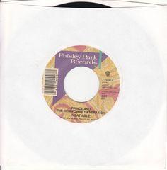 """Prince / Insatiable / I Love U In Me / 7"""" Vinyl 45 RPM Jukebox Record 19090 / NM #PopRB1990s"""