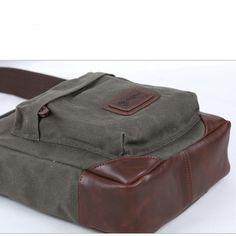 gray cross body bags for men