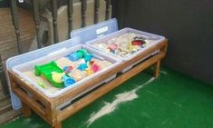 ideas for outdoor storage ideas toys diy projects The Effective Pictures We Offer You About Outdoor play areas natural A quality picture can tell you m Outdoor Toys For Kids, Outdoor Play Spaces, Backyard For Kids, Diy For Kids, Backyard Games, Diy Garden Ideas For Kids, Outside Toys For Kids, Diy Outdoor Toys, Outdoor Games