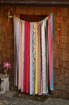 fabric-strip-curtain-via-etsy.jpg 570×865 pixels This would be ideal for underneath a bunkbed