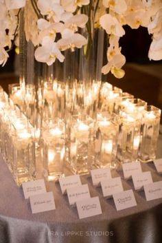 All White Indoor Wedding Reception