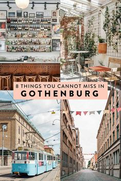 Gothenburg, Sweden is full of countless things to do, making it hard to narrow down your itinerary. Here are 8 things you cannot miss when visiting, including the best places to eat, drink, and see!