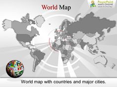 Present #World and its incredible beauty with excellent #PowerPoint_Maps.