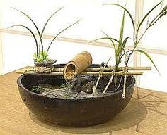 fuentes de agua con bambu - Buscar con Google