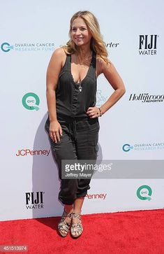 Actress Vanessa Ray arrives at the Ovarian Cancer Research Fund's Inaugural Super Saturday LA event at Barker Hangar on May 17 2014 in Santa Monica. Vanessa Ray Blue Bloods, Blue Bloods Tv Show, Celebrity Women, Famous Celebrities, Hot Blondes, Pretty Little Liars, Santa Monica, Female Characters, Movies