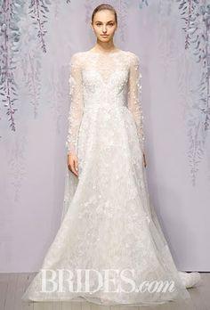 Monique Lhuillier Wedding Dresses - Fall 2016 - Bridal Runway Shows - Brides.com | Brides.com