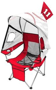 I so need one of these chairs for travel baseball!!!! More