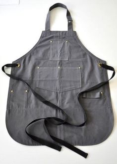 Sale - Barista Apron w/ towel loop - Size Regular - 40% off
