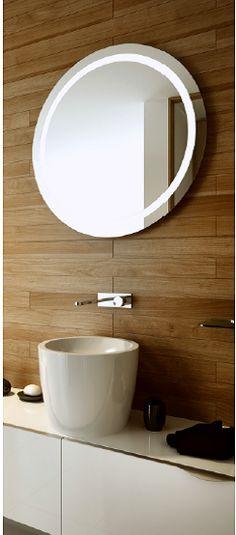 Kyklos LED Round Bathroom Mirror