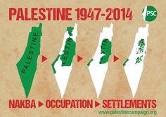 palestine - carte