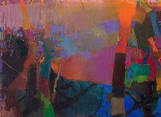 Brian Rutenberf: Bluet, 2013-14, oil on linen, 60 x 82 inches  an all time favorite artist of mine