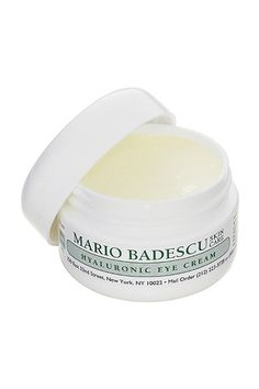 Mario Badescu Hyaluronic Eye Cream, $18, available at Nordstrom. #refinery29 http://www.refinery29.com/2016/12/132313/kylie-jenner-winter-skin-care-tips#slide-1
