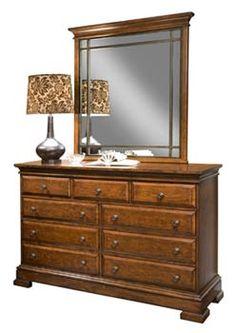 Brownsmill dresser and mirror