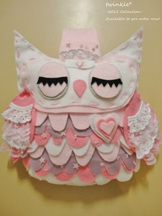 love the little owl. wonder if i could one day make?