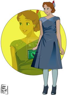 Wendy - Peter Pan | 21 More Disney Characters As Modern College Students