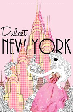 Dulcet New York by David Undetiwan, via Behance