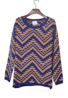 Aztec Chevron Sweater