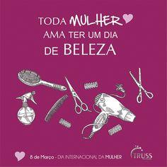 Amanhã é seu dia. Aproveite para ficar linda !!! #loucasportruss #sóquemusaentende
