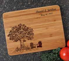 Welcome to Engravable Creations! We specialize in personalized, custom engraved bamboo cutting boards. Our ECO-FRIENDLY cutting boards are a