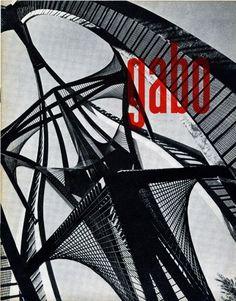 Benno Wissing – Naum Gabo Catalogue, Museum Boymans Van Beuningen, 1958