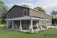 Farmhouse Plan: 2,160 Square Feet, 4 Bedrooms, 2.5 Bathrooms - 5032-00010