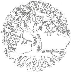 Tree of Life Linework