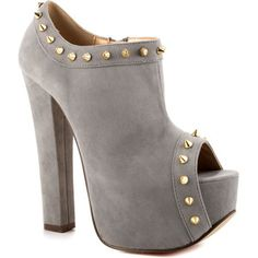 Luichiny Mighty Miss - Light Grey Suede