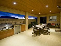 outdoor living areas image: bbq area, natural stone - 276639