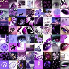Yowza, a purple collage, too divine!