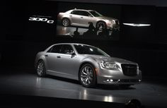 The 2015 Chrysler 300 C  at the Los Angeles Auto Show.