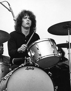 Michael Shrieve, American drummer (for Santana), percussionist, and electronic music composer