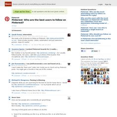 Website 'http://www.quora.com/Pinterest/Who-are-the-best-users-to-follow-on-Pinterest' snapped on Snapito!