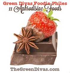 11 Aphrodisiac Foods to Cook up a Hot Valentine's Day Meal meal, diva foodiephil
