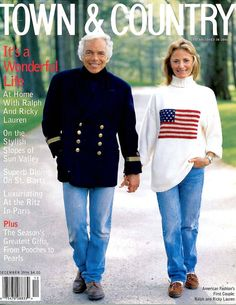 Ralph and Ricky Lauren- Ralph Lauren Town and Country Magazine - Town & Country Magazine