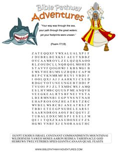 A word search puzzle for kids from the story, Path To Freedom.