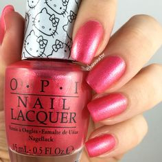 Say Hello Kitty 'Special edition shade' - OPI Hello Kitty collection