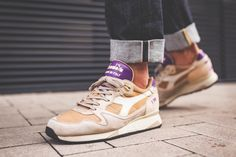 """Diadora V7000 Made in Italy """"Alpini"""" Pack in Warm Sand"""