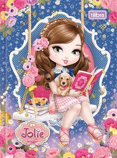 Caderneta Costurada Capa Dura 1/8 Jolie 96fls