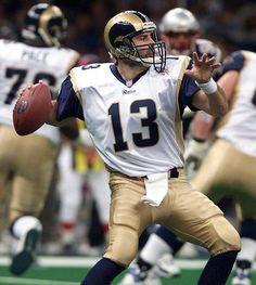 Kurt Warner (QB) Rams - First Year: 1998 - 12 seasons - Undrafted