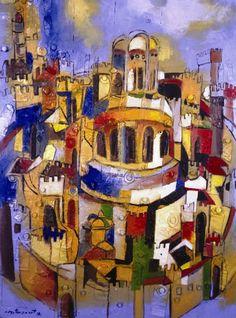 Jerusalem Miguel Betancourt (b 1958) Quito, Ecuador.