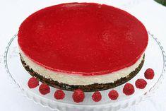Reteta culinara Tort cu ricotta si zmeura din categoria Torturi. Cum sa faci Tort cu ricotta si zmeura