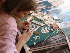 Jill Lihan's paper sculpting process - amazing!