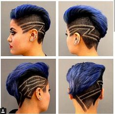 Extreme Cuts and Hair Tattoos!
