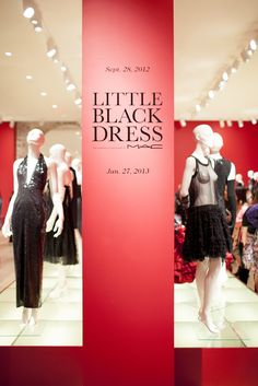 @SCAD - Savannah College of Art and Design  Little Black Dress exhibition at SCAD Museum of Art in Savannah.   #LBD