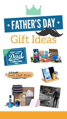 A complete list of the best gift ideas for Father's Day! Great gift ideas for dads, stepdads, and grandfathers, too! Stop your search for the best Father's Day gift ideas and check this post out! All the father's in your life will thank you! Fathers Day Presents, Gifts For Father, Mother Day Gifts, Great Father's Day Gifts, Best Gifts, Handmade Father's Day Gifts, Father's Day Celebration, Creative Birthday Gifts, Activities For Adults