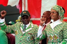 Keep Your 'Pink Nose' Out of Our Affairs Mugabe Tells the U.S.