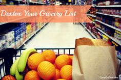 Detox your body AND your grocery list!
