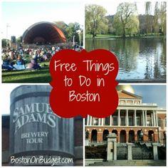 Free Things to Do in Boston #Boston #Travel #Free