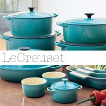 LeCreuset Teal > 29.99 At the Salvation Army thrift store... Imagine the look on my face when I looked this up! The cost was over 400.00