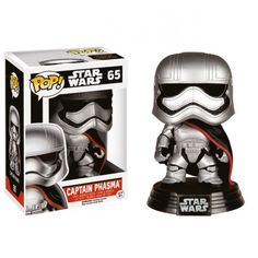 Buy Star Wars The Force Awakens Captain Phasma Funko Pop! Vinyl from Pop In A Box UK, the home of Funko Pop Vinyl subscriptions and more. Darth Vader Star Wars, Star Wars Vii, Star Wars Shop, Star Trek, Pop Vinyl Figures, Star Wars Episodio Vii, Regalos Star Wars, Starwars, Star Wars